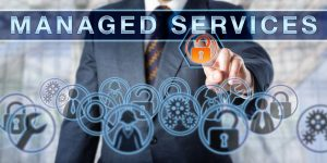 managed services title screen