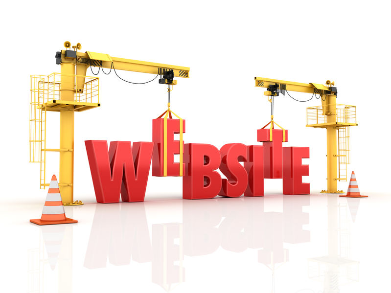 "constructing the word ""website"""